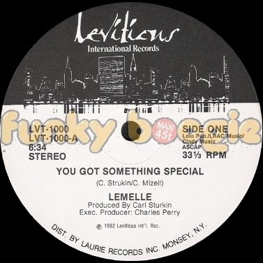 Lemelle - You Got Something Special