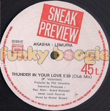 Akasha Lemuria - Thunder In Your Love (Club Mix)