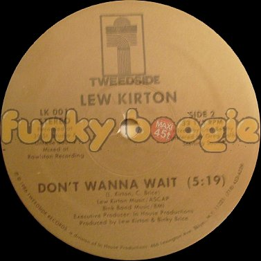 Lew Kirton - Don't Wanna Wait