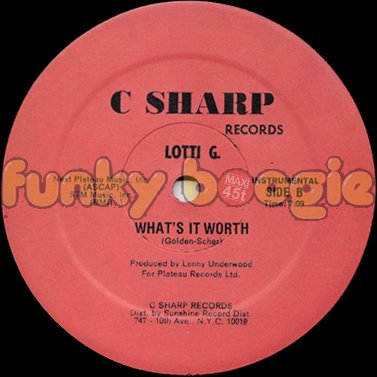 Lotti G. - What's It Worth (Instrumental)