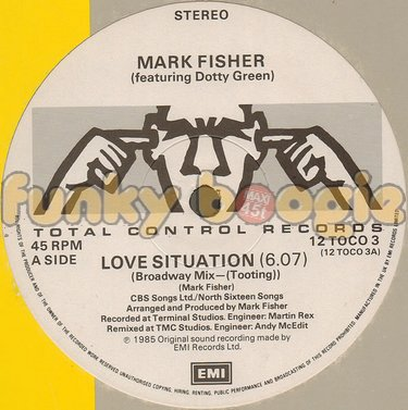 Mark Fisher Feat. Dotty Green - Love Situation (Broadway Mix-(Tooting))