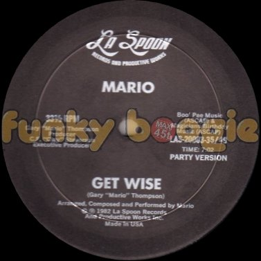 Mario - Get Wise (Party Version)