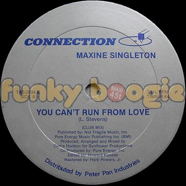 Maxine Singleton - You Can't Run From Love (Club Mix)