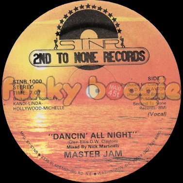 Master Jam - Dancin' All Night (Vocal)