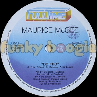 Maurice McGee - Do I Do