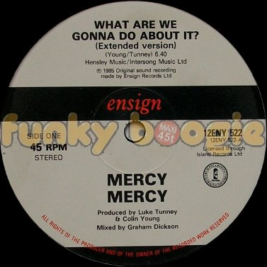 Mercy Mercy - What Are We Gonna Do About It? (Extended Version)