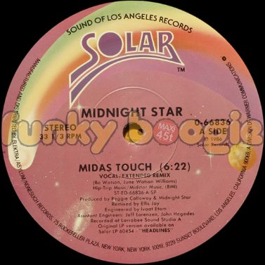 Midnight Star - Midas Touch (Vocal/Extended Remix)