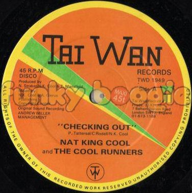 Nat King Cool And The Cool Runners - Checking Out