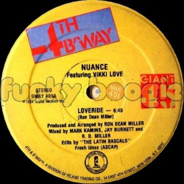 Nuance Feat. Vikki Love - Loveride