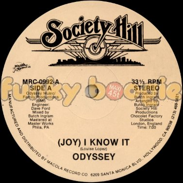 Odyssey - (Joy) I Know It