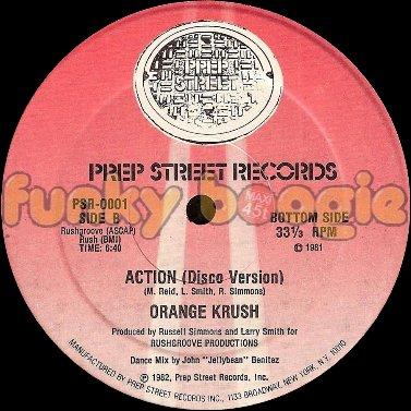 Orange Krush - Action (Disco Version)