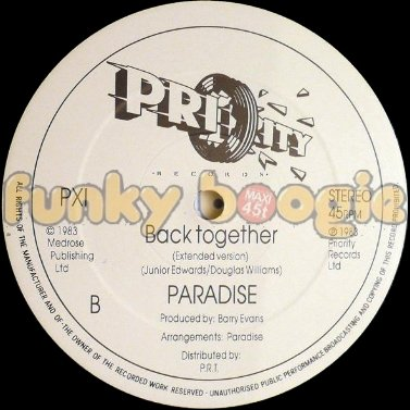 Paradise - Back Together (Extended Version)