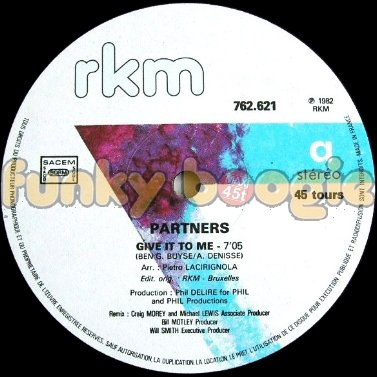 Partners - Give It To Me