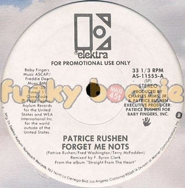 Patrice Rushen - Forget Me Nots