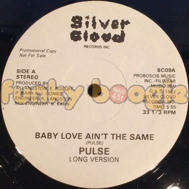 Pulse - Baby Love Ain't The Same (Long Version)