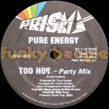 Pure Energy - Too Hot (Party Mix)