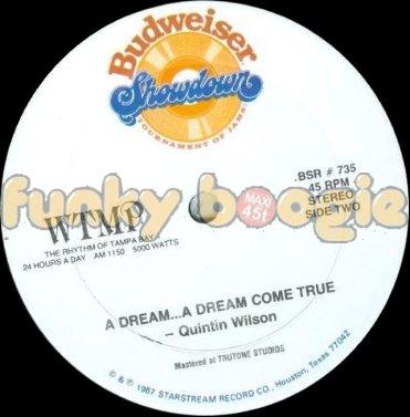 Quintin Wilson - A Dream...A Dream Come True