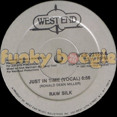 Raw Silk - Just In Time (Vocal)