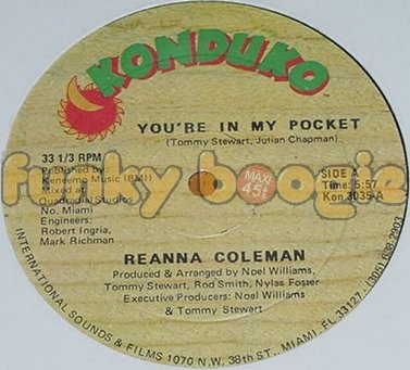 Reanna Coleman - You're In My Pocket
