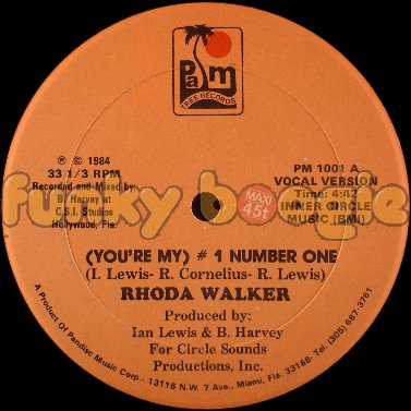 Rhoda Walker - (You're My) # 1 Number One (Vocal Version)