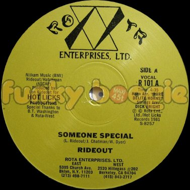 Rideout - Someone Special (Vocal)