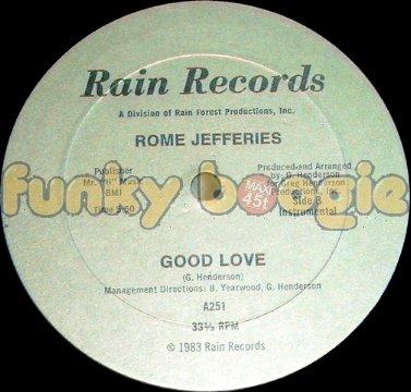 Rome Jefferies - Good Love (Instrumental)