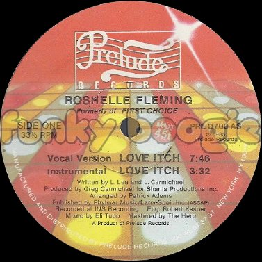 Roshelle Fleming - Love Itch (Vocal Version)