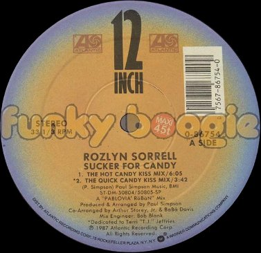 Rozlyn Sorrell - Sucker For Candy (The Hot Candy Kiss Mix)