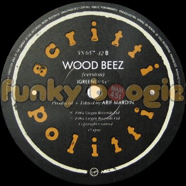 Scritti Politti - Wood Beez (Version)