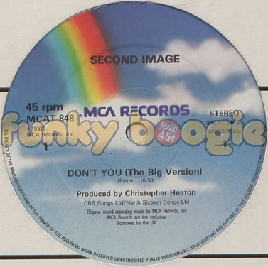 Second Image - Don't You (The Big Version)