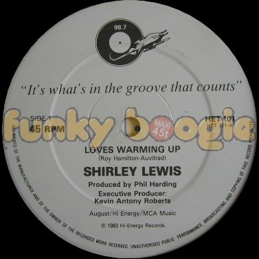 Shirley Lewis - Loves Warming Up