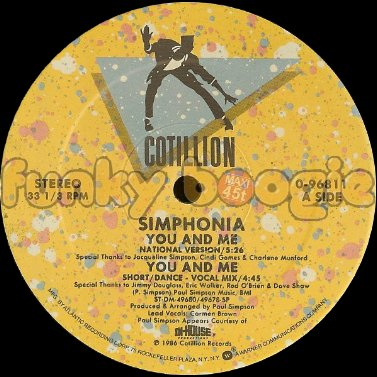 Simphonia - You And Me (National Version)