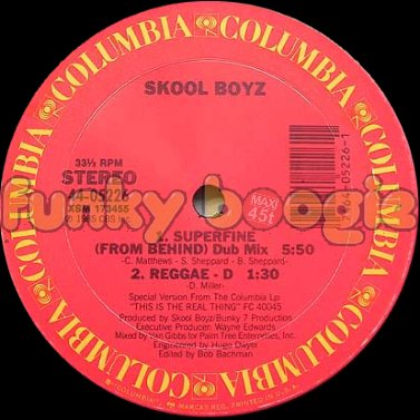 Skool Boyz - Superfine (From Behind) (Dub Mix)