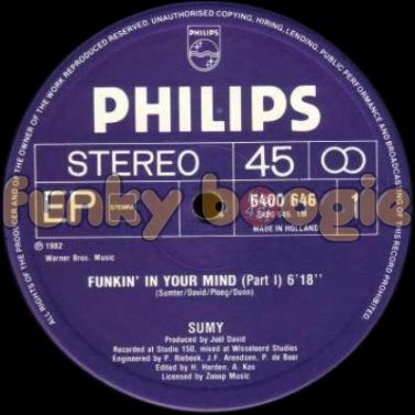 Sumy - Funkin' In Your Mind (Part I)