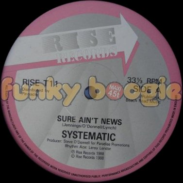 Systematic - Sure Ain't News