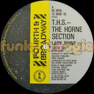 T.H.S. (The Horne Section) - Lady Shine (Shine On)