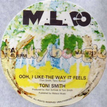 Toni Smith - Ooh, I Like The Way It Feels