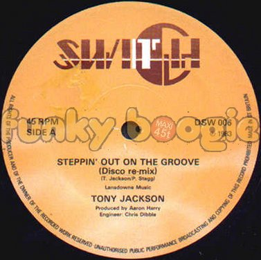 Tony Jackson - Steppin' Out On The Groove (Disco Re-Mix)