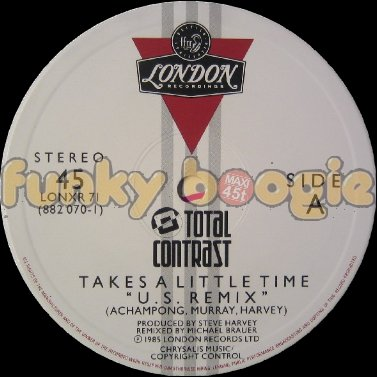 "Total Contrast - Takes A Little Time "" U.S. Remix """