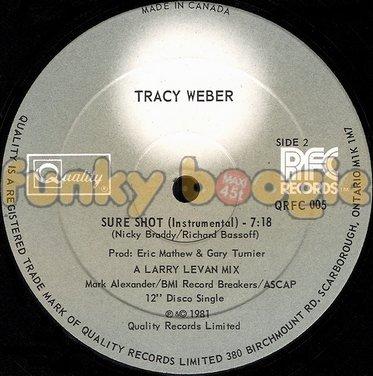 Tracy Weber - Sure Shot (Instrumental)