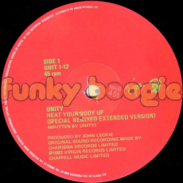 Unity - Heat Your Body Up (Special Remixed Extended Version)