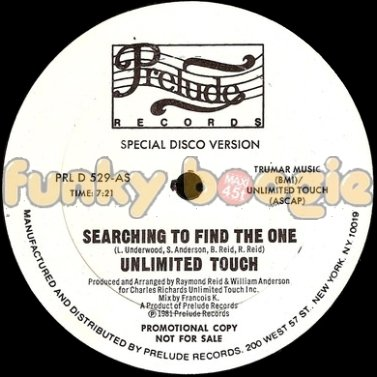 Unlimited Touch - Searching To Find The One (Special Disco Version)