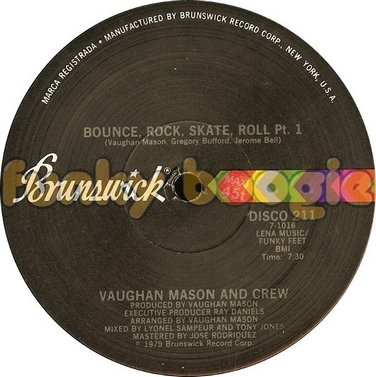 Vaughan Mason And Crew - Bounce, Rock, Skate, Roll Pt. 1
