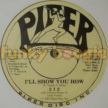 212 - I'll Show You How (Extended Vocal Mix)