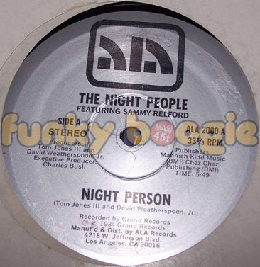 Night People Feat. Sammy Relford, The - Night Person