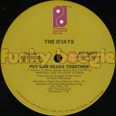 O'Jays, The - Put Our Heads Together