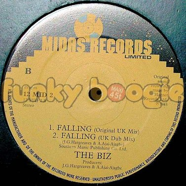 Biz, The - Falling (Original UK Mix)