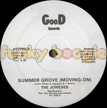Joneses, The - Summer Grove (Moving-On)