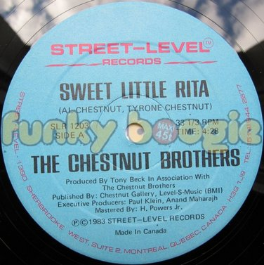 Chestnut Brothers, The - Sweet Little Rita