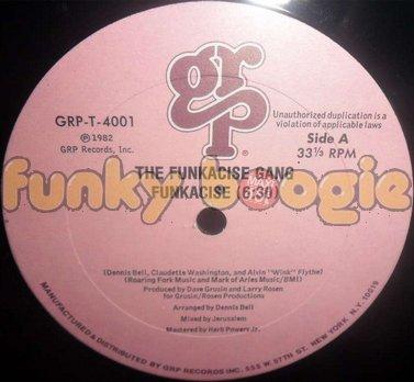 Funkacise Gang, The - Funkacise